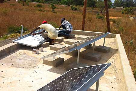 Électrification de maison au Nigéria