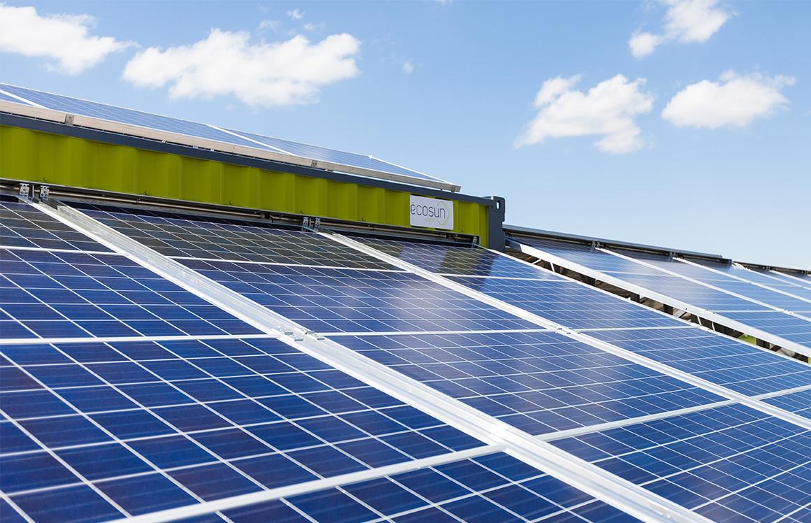 rural electrification Sénégal solar container generator