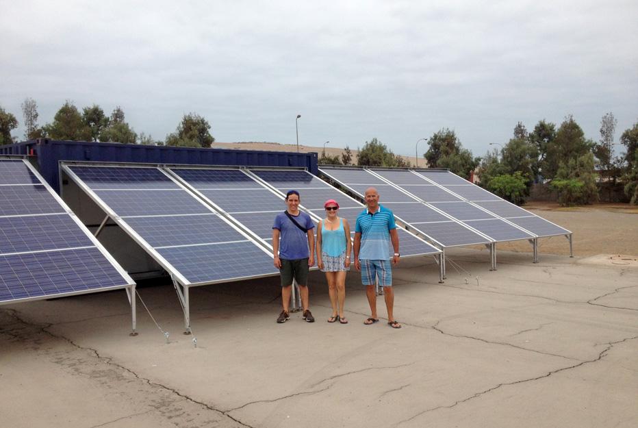 energia solar contentor site isolado