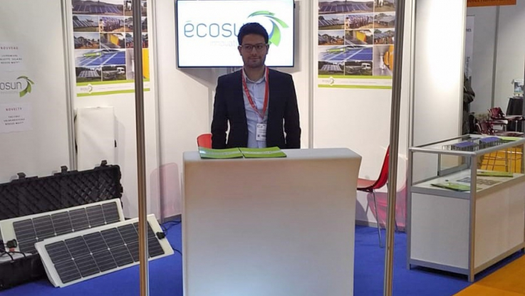 Ecosun Innovations au salon AidEx à Bruxelles