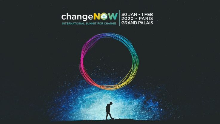 feria CHANGE NOW en París
