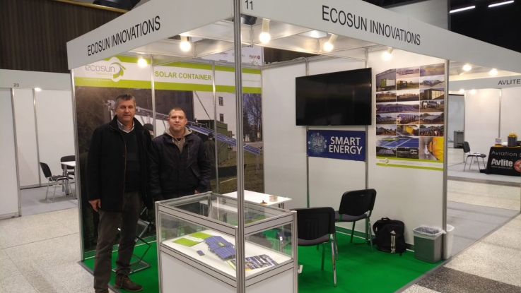 Ecosun Innovations au salon IESMA