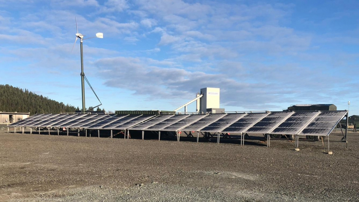 Tritend Juncture OTAN container solaire Mobil-Watt