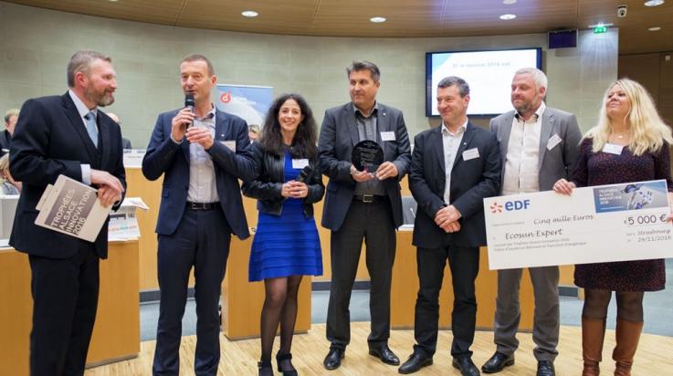 Lauréat Trophées Alsace Innovation 2016 Ecosun et Mobil-Watt
