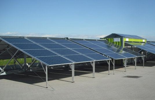 Contentor solar