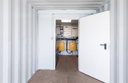 Contentor solar estático Fix-Watt®
