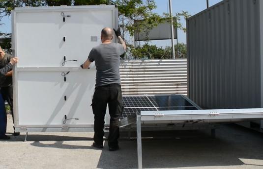 Solar-Container