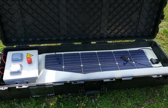 Solar-Einsatzkoffer Rescue-Watt®