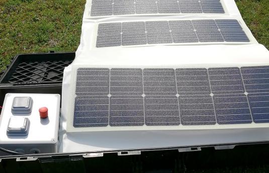 Mallette solaire d'urgence Rescue-Watt®