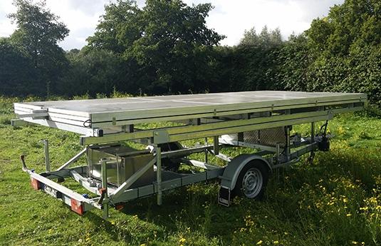 remorque photovoltaïque