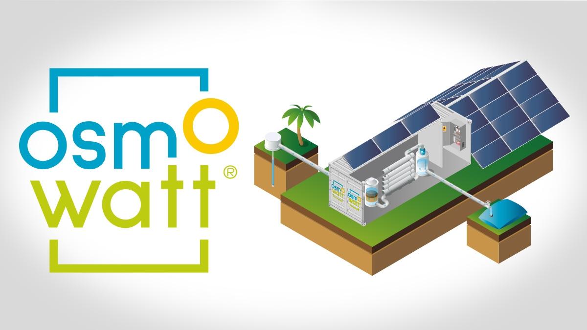 Osmowatt® generateur solaire traitement de l'eau