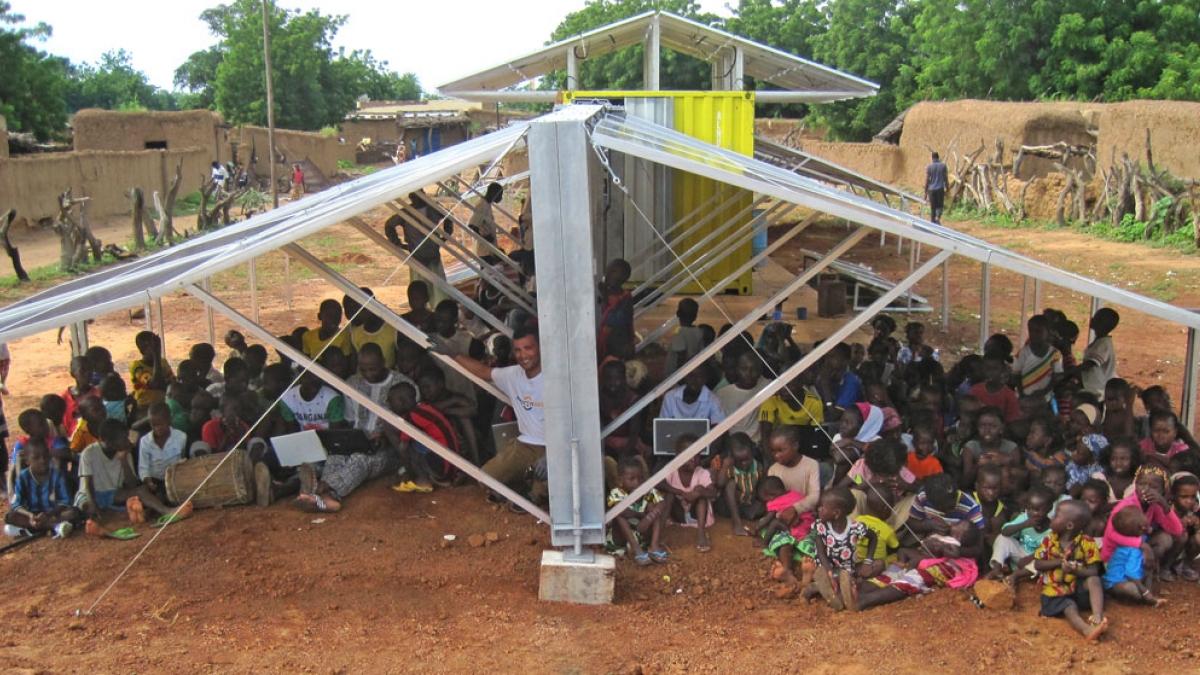 électrification village Mali énergie solaire