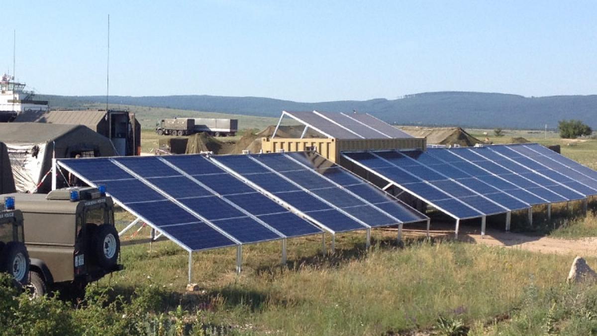 mobil-watt® for military purpose, alternative to diesel generator
