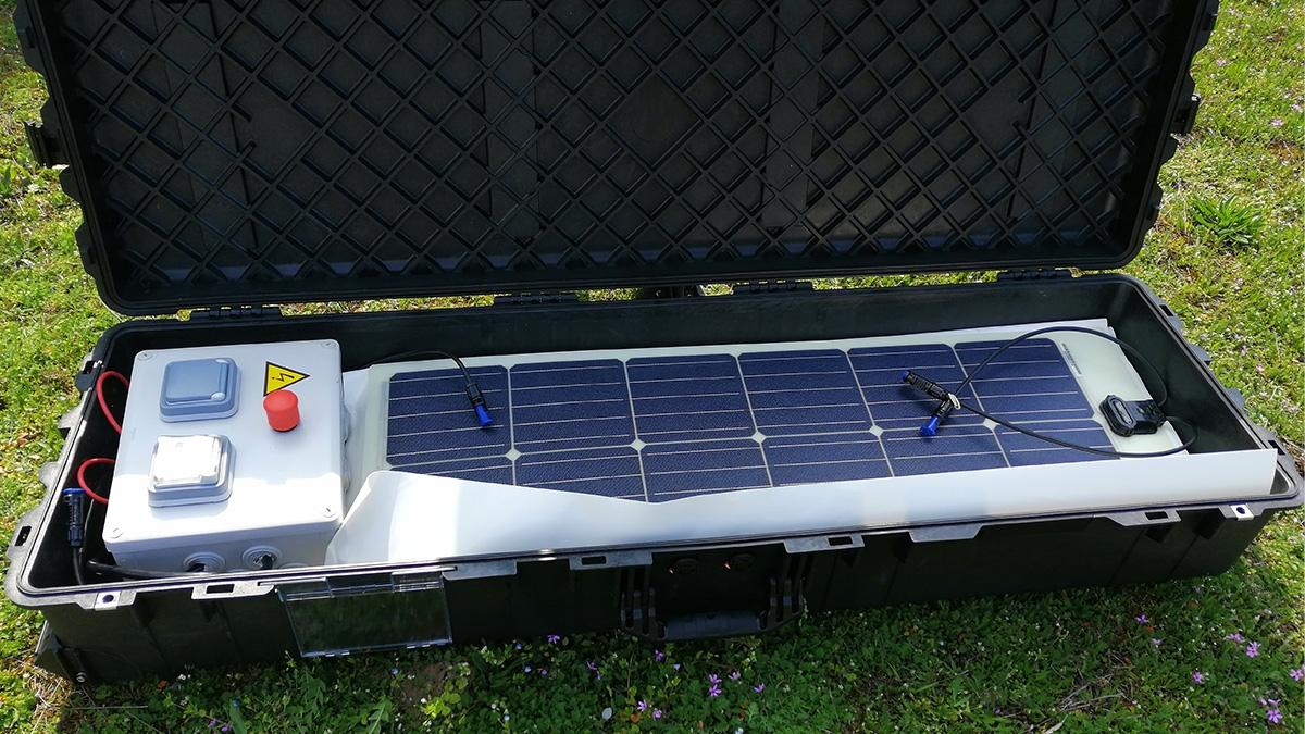 Mallette solaire d'urgence