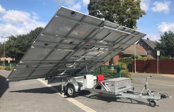 Miet-Solaranhänger