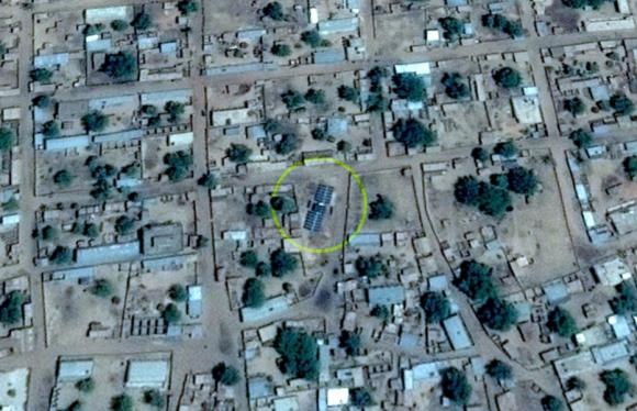 génératrice solaire village