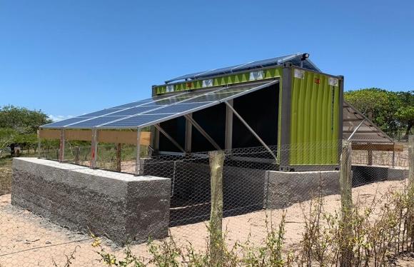 Mobil Watt® solar container