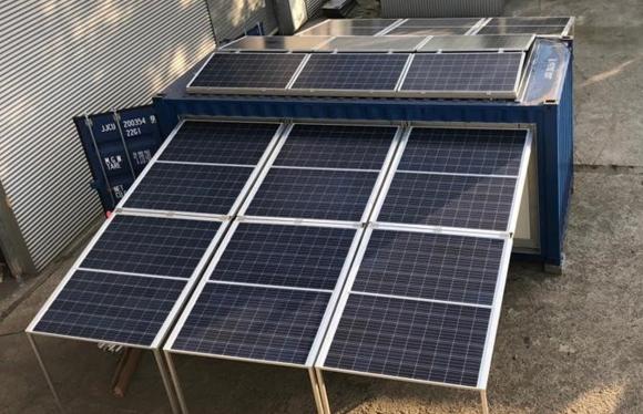 générateur solaire container